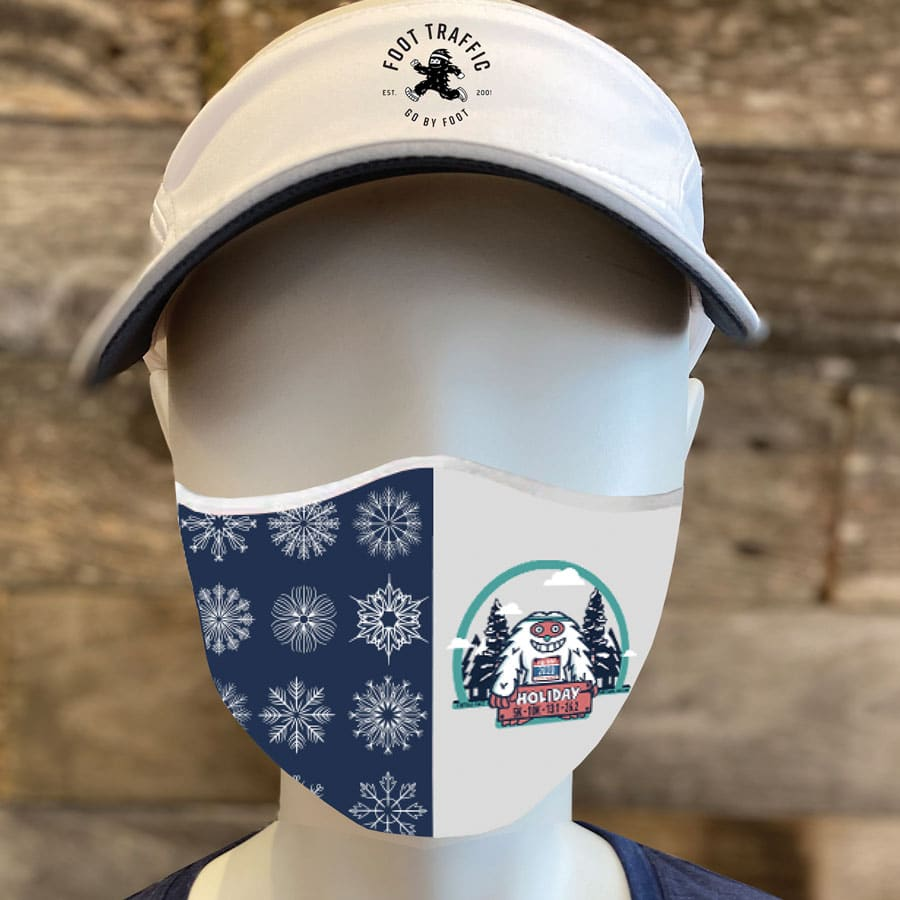 Holiday Half Marathon mask