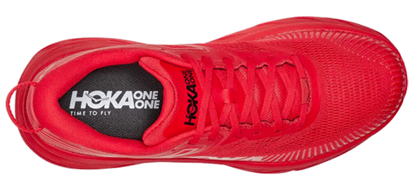 hoka bondi 7 red