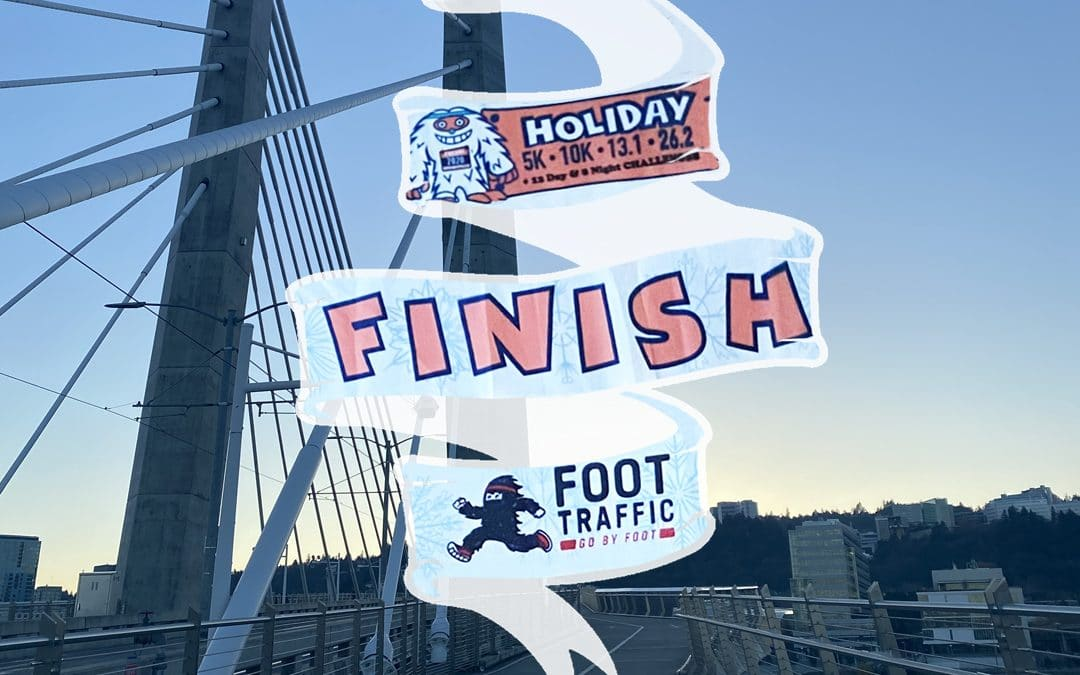 """HOLIDAY 2020 """"SHOW US YOUR FINISH LINE"""" CONTEST!"""