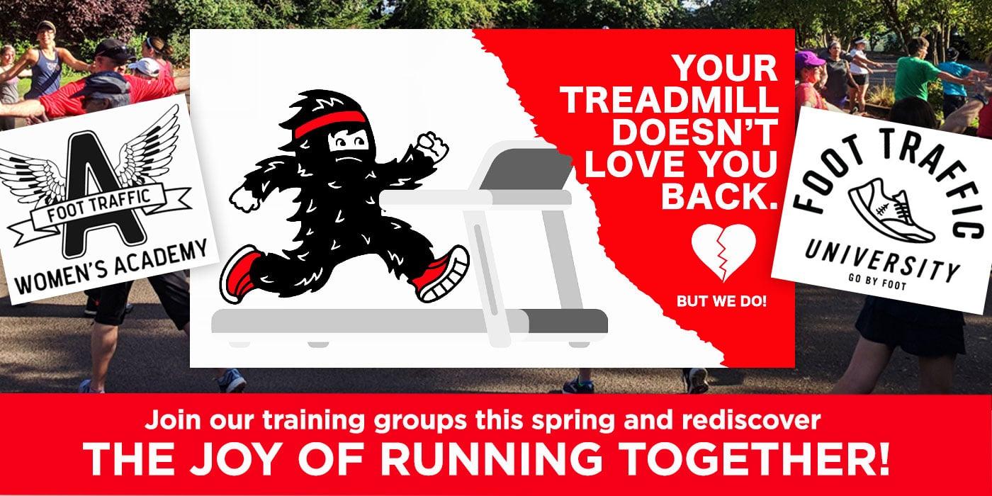 Portland running groups