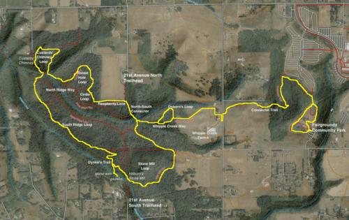 Whipple Creek Trail Map